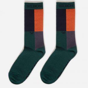 calcetin-cuadros-verde