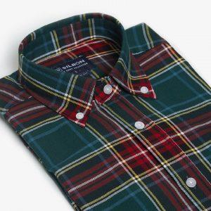camisa-sport-tartan-verde-medio-1