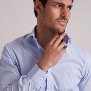 camisa-vestir-celeste-easy-iron