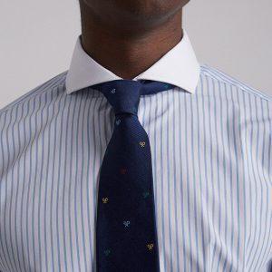 camisa-vestir-raya-celeste-cuello-blanco