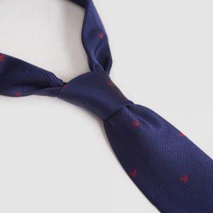 corbata-marina-raquetas-rojas
