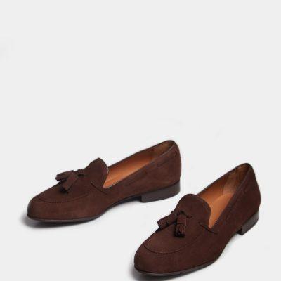 zapato-borlas-ante-marron