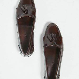 zapato-pala-corta-felpa-marron